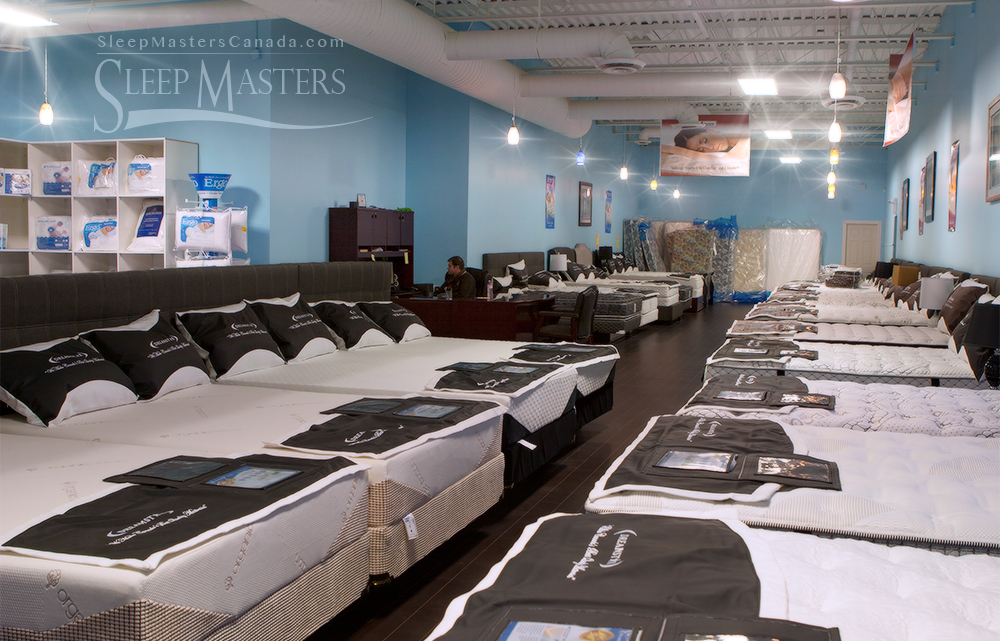 About sleep masters canadasleep masters canada mississauga for Best store to buy a mattress