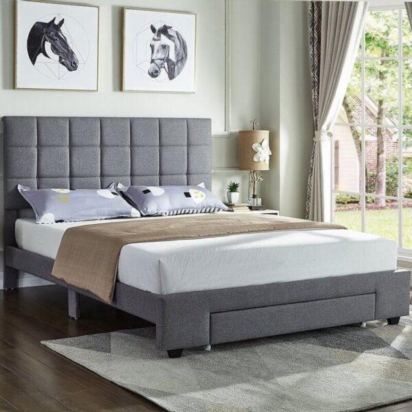 Maxine Bed Grey