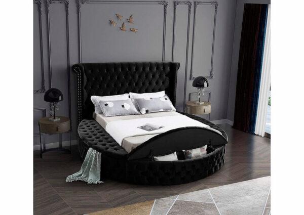 Kelowna Storage Bed Black