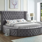 Kelowna Storage Bed Grey